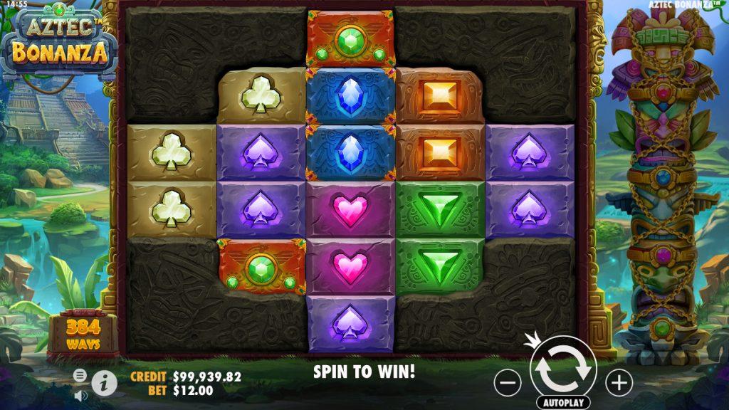เกมสล็อตจ่ายเงินจริง Aztec bonanza